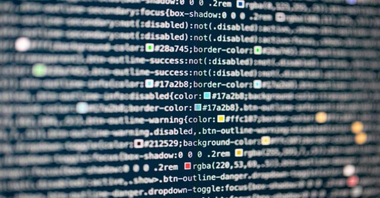 Computer coding for web development